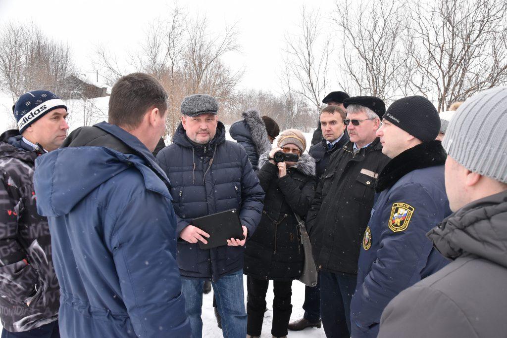 Игорь Чесноков на выездном совещании