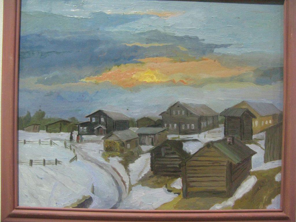 Деревня Веркола, Архангельская область