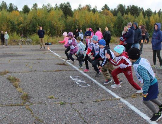 Взлетная полоса в Верхней Тойме - место проведения соревнований по бегу