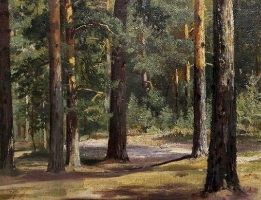 Картина Ивана Шишкина