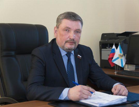 Депутат АОСД Игорь Чесноков