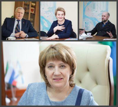 Гость редакции ИД «Двина»