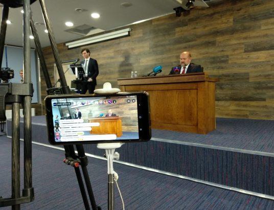 Пресс-конференция Игорь Орлов