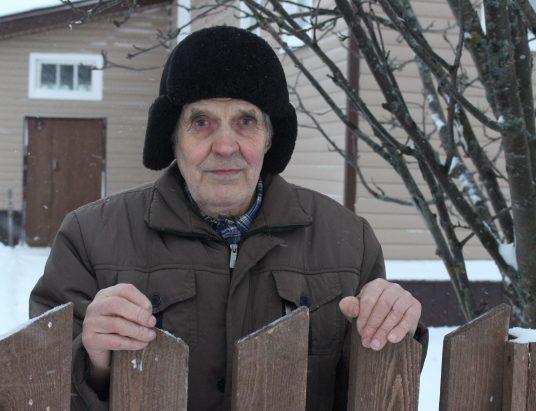 ветеран из Заостровья Виктор Павлович Михайлов