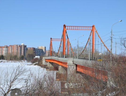 Кузнечевский мост зимой