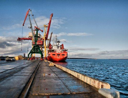 порт Архангельска