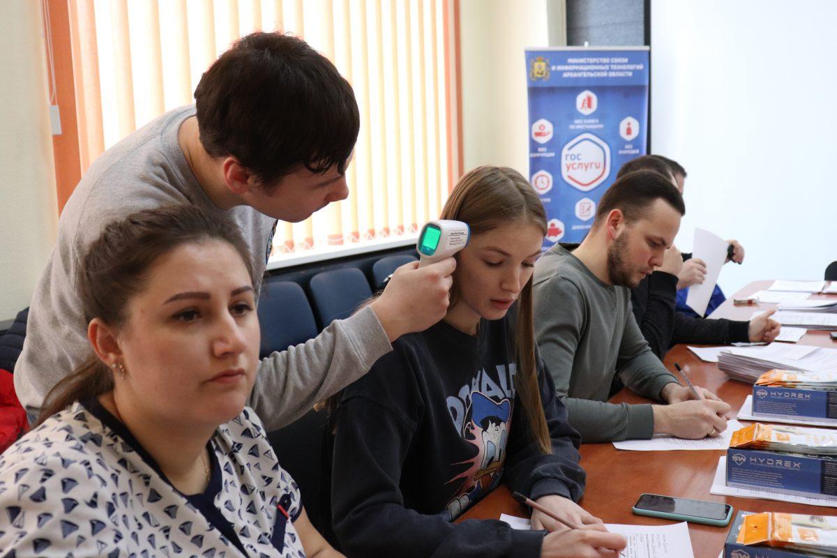 В Северодвинске продолжает расти число  заболевших COVID-19