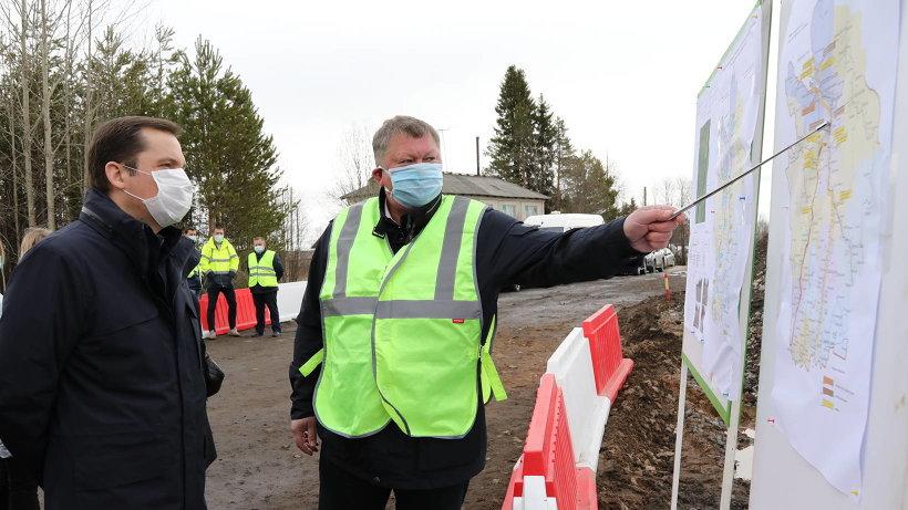 Капитальный ремонт шести километров трассы  М-8 в Холмогорском районе завершат в этом году