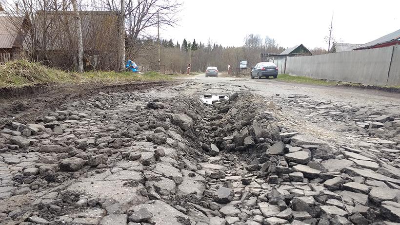 В этом году в Новодвинске планируют отремонтировать почти четыре километра дорог