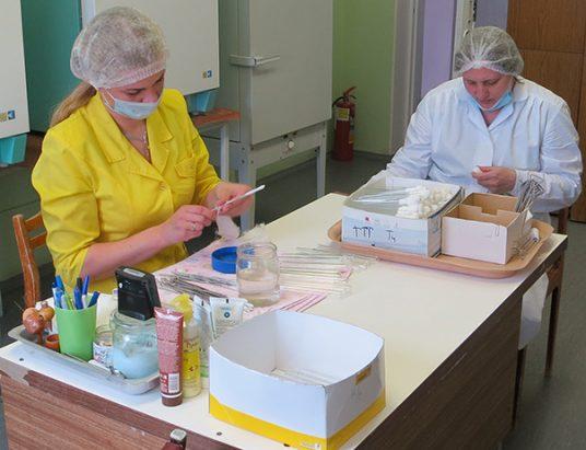 Лаборатория в больнице