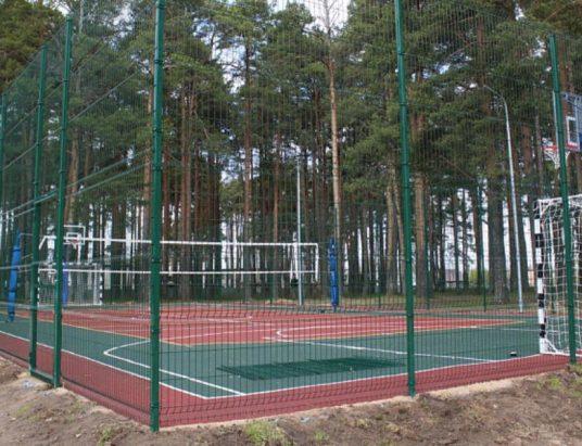 Спортивная площадка в Шенкурске