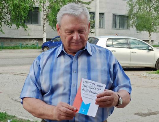 председатель организации «Ветераны Северного флота», член Общественной палаты Архангельской области Анатолий Бутко.