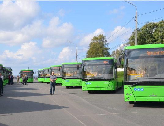 автобусы Архангельск