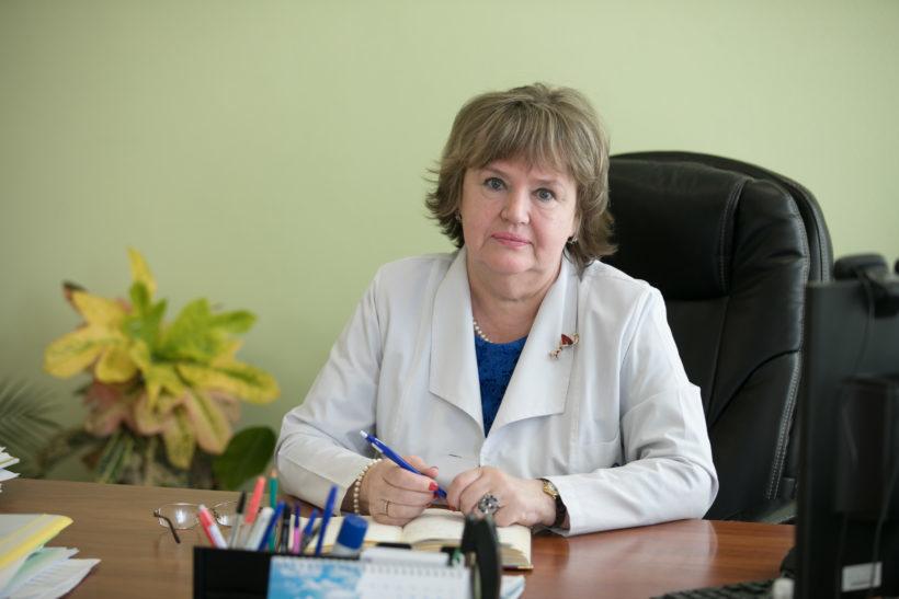 главнглавврач Архангельской городской клинической поликлники №2 Ольга Лузанова