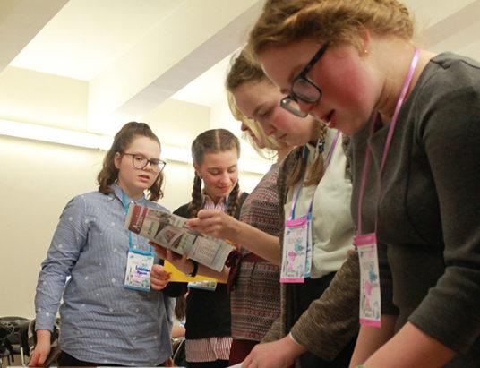 участники фестиваля «Школьные СМИ»
