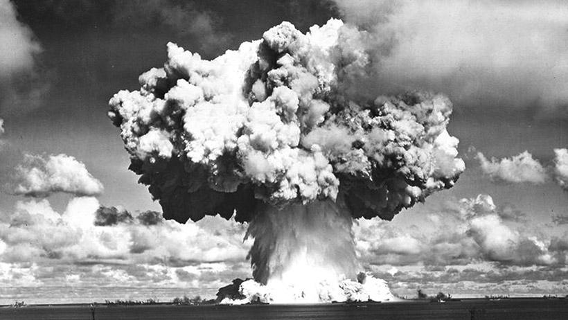 Новая земля ядерный взрыв