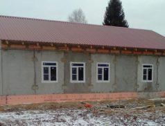 В Шенкурском районе Архангельской области строят фельдшерско-акушерский пункт по нацпроекту «Здравоохранение»