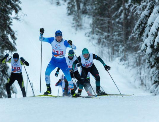 Рождественская лыжная гонка Архангельск
