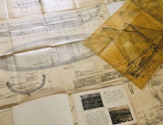 архив Соломбальской судоверфи