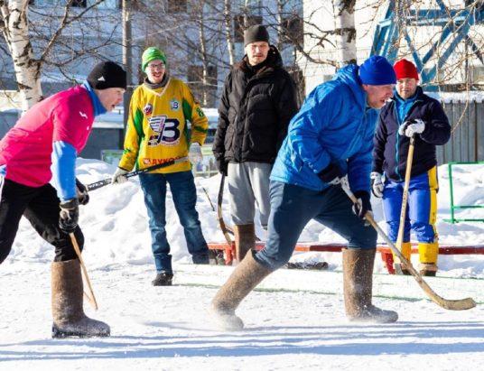 хоккей на валенках Архангельск