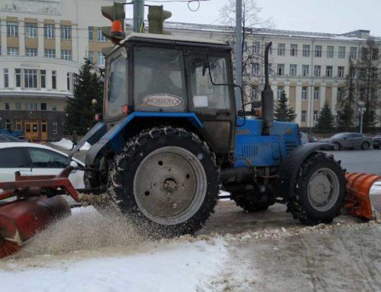 уборка_дорог_Архангельск