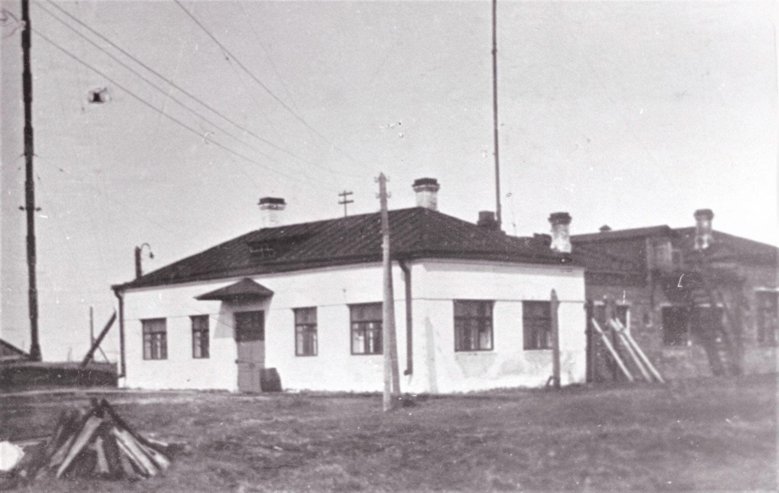 здание радиостанции РВ 36, Архангельск 1939г.