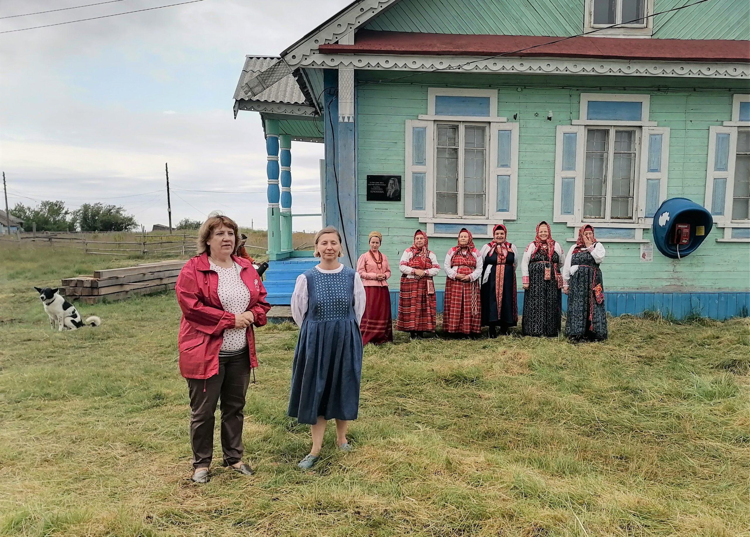 Золотица_дом Марфы Крюковой
