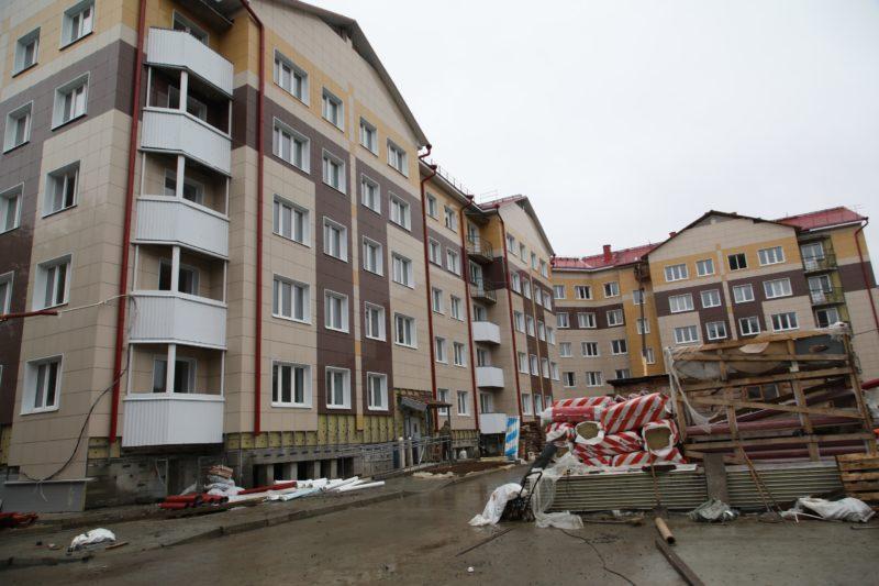 В Северодвинске по программе переселения будут сданы два жилых дома